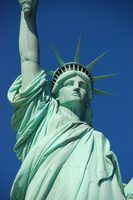 Activités pour les enfants à construire une statue de la liberté