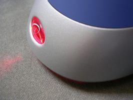 Une souris d`ordinateur est un dispositif d`entrée commun.