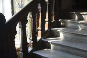 Alternatives à tapis sur l`escalier