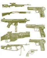Pièces de canon de fusil