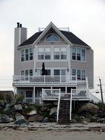 Beach house extérieur couleurs de peinture
