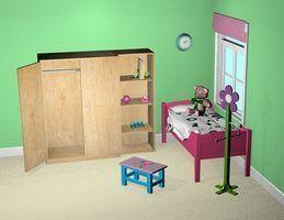L`utilisation d`une couleur unie pour une chambre partagée est un pari sûr.