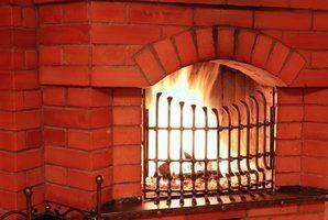 Brique idées cheminée de relooking
