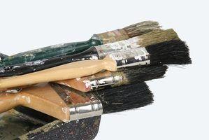 Brosses à utiliser pour la peinture au latex acrylique