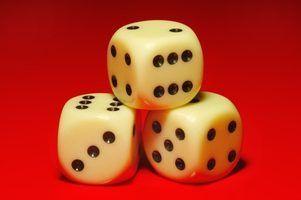 Bunco instructions de jeu de dés
