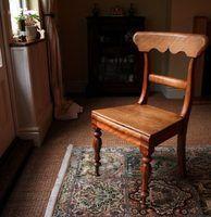 Idées président de coussin pour les sièges en bois