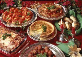 Bon marché idées de repas de vacances