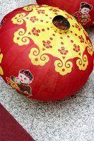Chinois de nouvelles idées année d`artisanat pour les enfants
