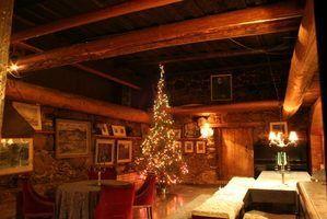 Noël idées de décoration lodge