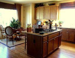 Idées de décor pour sommets des armoires de cuisine