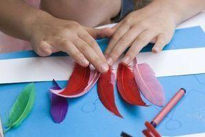 Activités de plumes pour le préscolaire