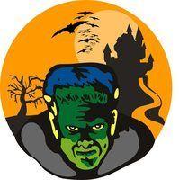 Frankenstein idées de décoration de citrouille