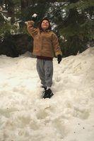 Grands jeux à jouer dans la neige