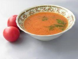 Soupes sains pour les enfants