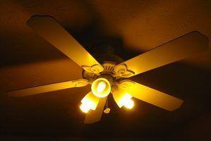 Déconnecter un ventilateur de plafond vieux peut être difficile.