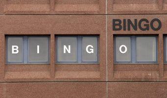 Bingo est un excellent moyen de recueillir des fonds pour votre enfant`s school.