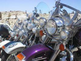 Des idées pour la décoration de la moto de chambre d`enfant
