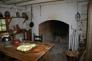 Idées look primitif armoires de cuisine