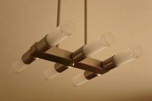 lumières suspendues sont largement utilisés.