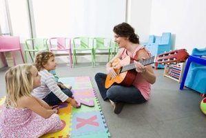 Kindergarten musique concert idées de chansons