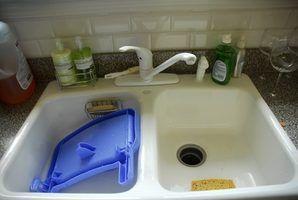 Types de clips pour maintenir un évier de cuisine en place