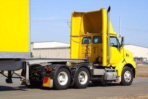Connectez-vous des règles comptables pour les conducteurs de camion