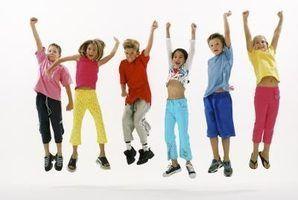 Les activités du mouvement de musique pour les enfants 3-5 ans