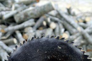 Les noms des outils électriques utilisés dans le travail du bois