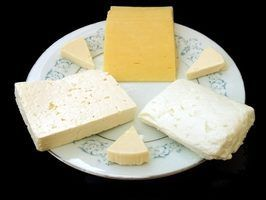 Il`s not unusal to find cheese on a Norwegian breakfast table.