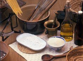 Substitutions de farine de pâtisserie