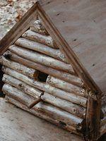 Artisanat en bois rustique primitive
