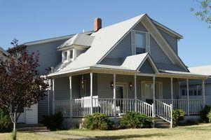 Moyens rapides et faciles à peindre rails porche