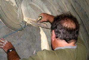 Tailles de truelle recommandées pour les planchers de carreaux de céramique