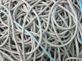 Méthodes de stockage de corde