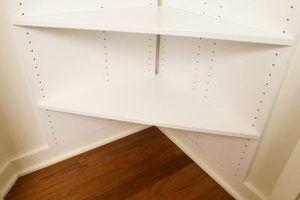 Idées d`étagères pour les petits espaces