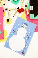 Idées de projets d`artisanat snowman