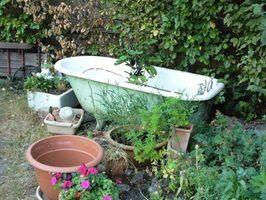 Conseils de détachage pour baignoires en fonte