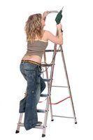 escabeaux peuvent varier d`une hauteur de 4 à 12 pieds.