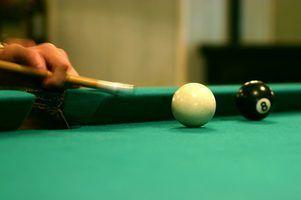 Hétéro huit balle est légèrement différente de celle de huit bal traditionnel.