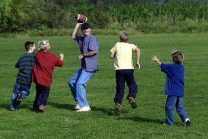 Lancer et attraper des jeux pour les enfants