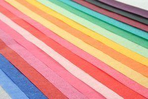 Tissue idées d`artisanat en papier