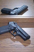 Types d`armes de poing 9mm