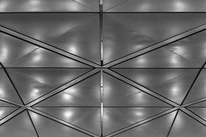 Types de dalles de plafond de baisse