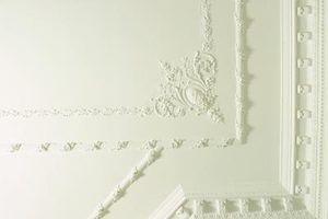 Types de plafonds en plâtre