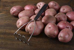 Les types de pommes de terre rouges