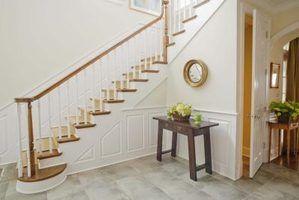 Lambrissage idées pour les escaliers