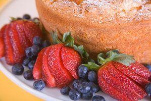Façons de décorer des gâteaux de nourriture d`ange