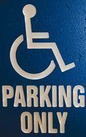 Wisconsin lois de stationnement pour handicapés